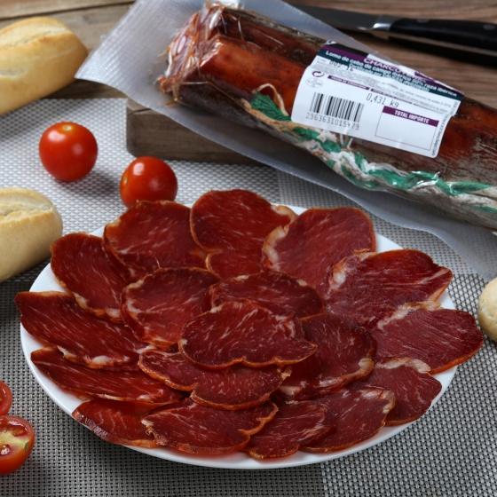 Lomo ibérico de cebo 50% raza ibérica taco Señorio de Olivenza pieza 600 g aprox - 1