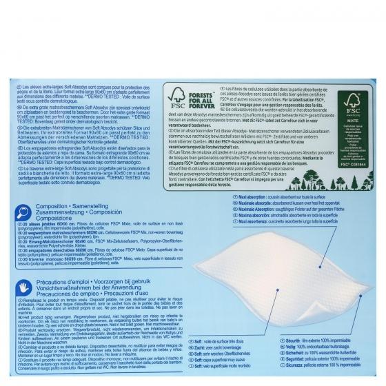 Protector para adultos Carrefour 20 ud. - 1