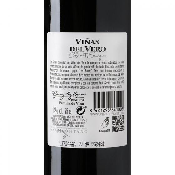 Vino D.O. Somontano tinto Viñas del Vero 75 cl. - 3
