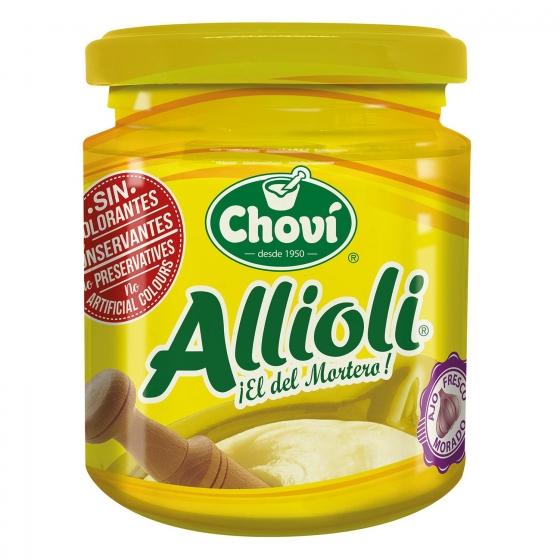 Salsa alioli Chovi tarro 200 ml.