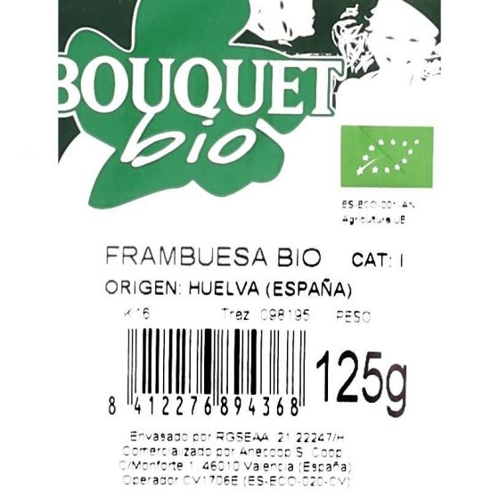 Frambuesa ecológica Carrefour granel tarrina 125 g - 3