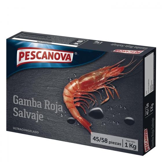 Gamba roja salvaje Pescanova 1 kg.