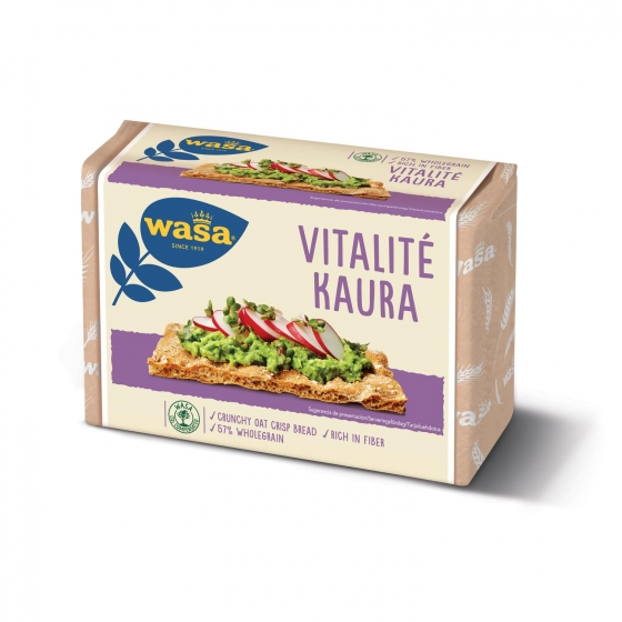 Pan tostado Vitalité Wasa 280 g.
