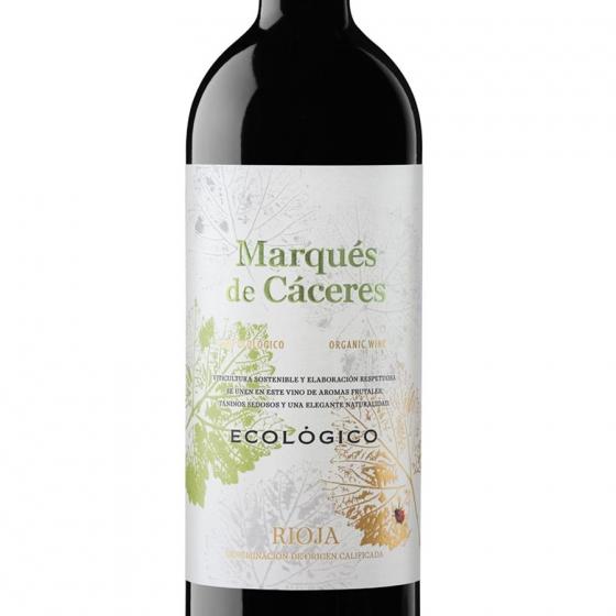 Vino D.O. Rioja tinto ecológico Marqués de Cáceres 75 cl. - 1