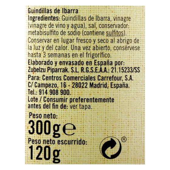 Guindillas de ibarra De Nuestra Tierra 120 g. - 3
