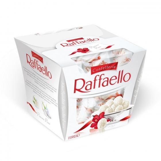 Bombones de coco y almendra Ferrero Raffaello 15 ud.
