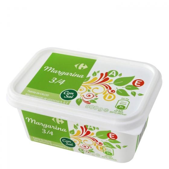 Margarina con sal Carrefour 500 g.
