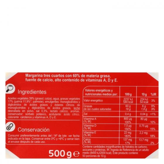 Margarina Carrefour 500 g. - 3