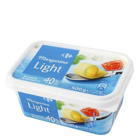 Margarina ligera Carrefour 500 g.