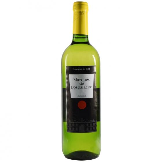Vino blanco Marqués Dospala botella 75 cl.