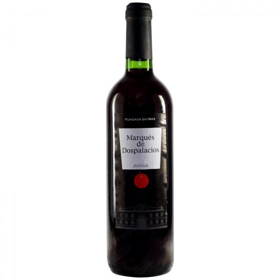 Vino tinto Marqués Dospala botella 75 cl.