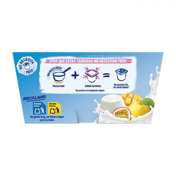 Petit de queso fresco con frutas desde 8 meses Nestlé Yogolino sin gluten pack de 4 unidades de 100 g. - 4