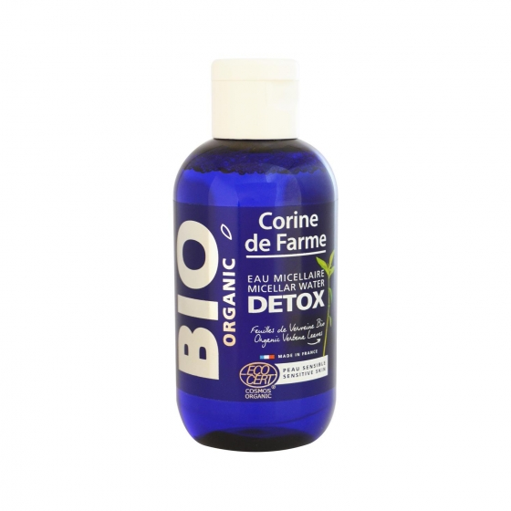 Agua micelar detox ecológica Corine de Farme Bio 100 ml.