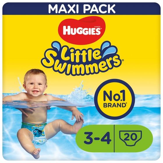 Bañador Desechables Huggies® Little Swimmers (7-15 kg) 20 uds