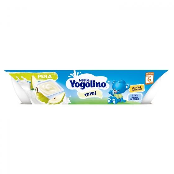 Postre lácteo de pera desde 6 meses Nestlé Yogolino sin gluten pack de 6 unidades de 60 g. - 5