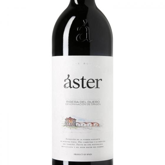 Vino D.O. Ribera del Duero tinto crianza Aster 75 cl. - 1