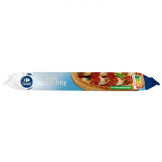 Masa de hojaldre Carrefour 230 g.