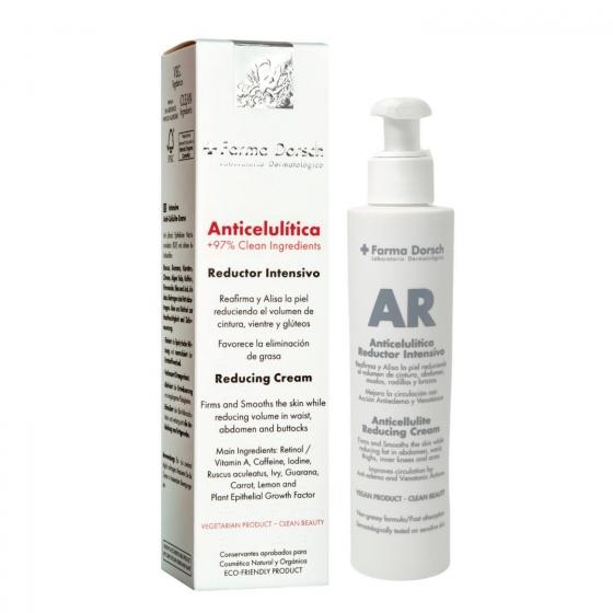 Crema anticelulítica Detox Reductor Intensivo + Farma Dorsch 200 ml.