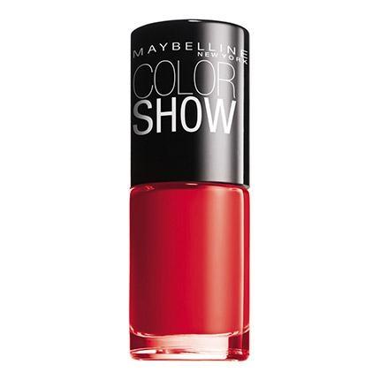 Laca de uñas ColorShow nº 349 power red Maybelline 1 ud.