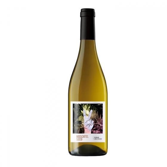 Vino blanco moscatel seco Nuban Discovery 75 cl.