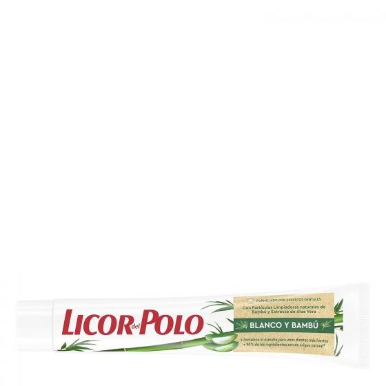 Dentífrico blanco y bambú Licor del Polo 75 ml. - 1