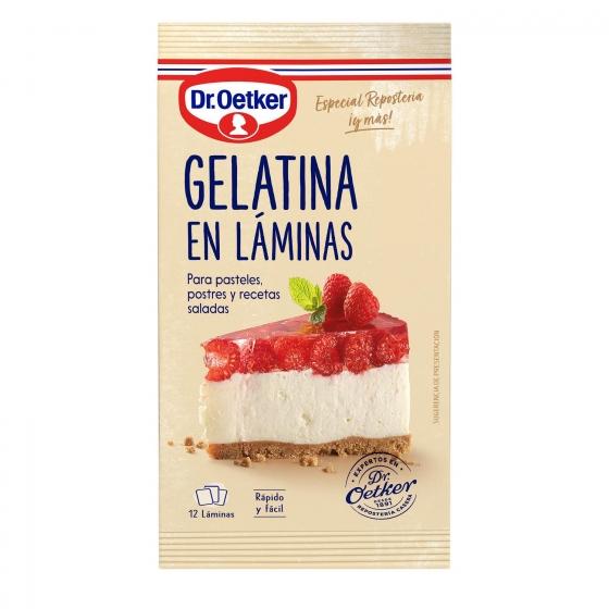 Gelatina en láminas Dr. Oetker 1 ud.