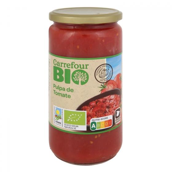 Pulpa de tomate ecológico Carrefour Bio 660 g.