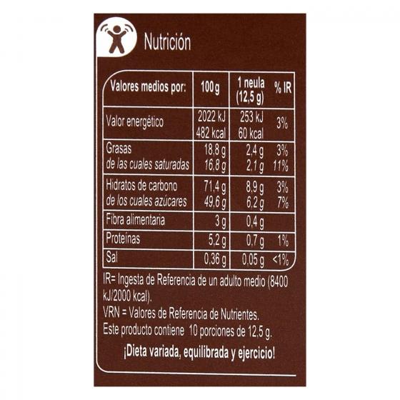 Neulas al cacao 125 g. - 1