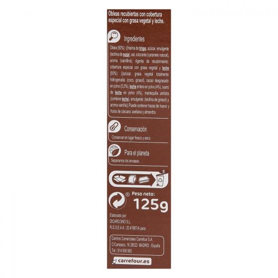 Neulas al cacao 125 g. - 3