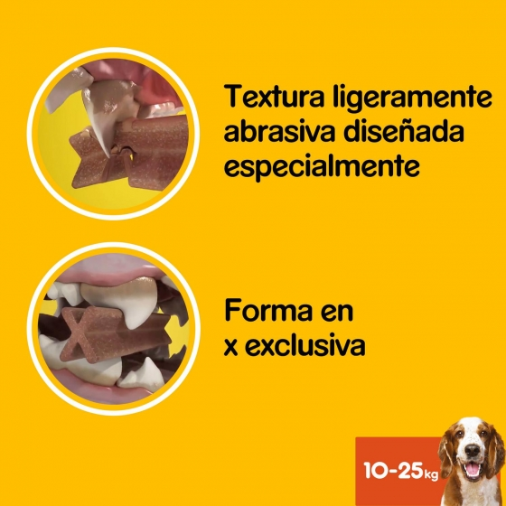 Snacks dental para perros medianos Pedigree daily Oral Care Dentastix pack de 56 unidades - 1