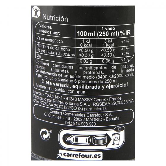 Refresco de cola Carrefour zerobotella 1,5 l. - 3