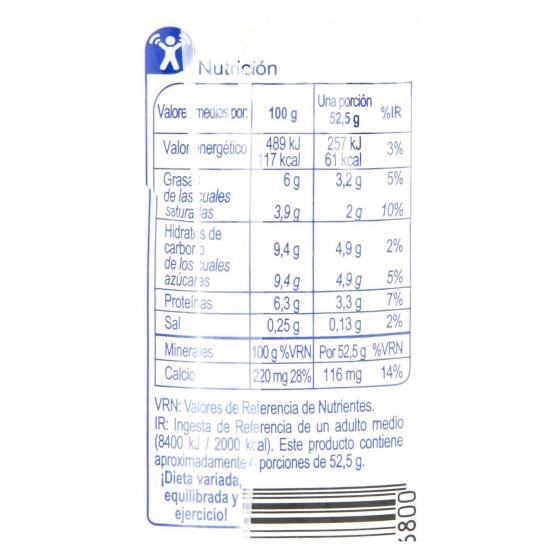 Leche evaporada parcialmente desnatada Carrefour pack de 3 unidades de 200 ml. - 1