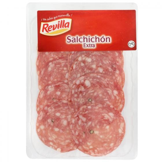 Salchichón extra loncheado Revilla 85 g