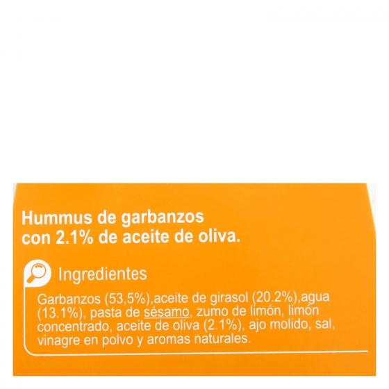 Hummus receta clásica Carrefour 240 g. - 4