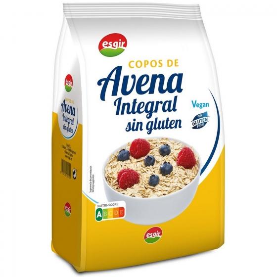 Copos de avena Esguir sin gluten 450 g.
