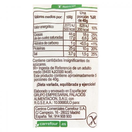 Chorizo sarta extra ecológico Carrefour sin gluten 200 g. - 3