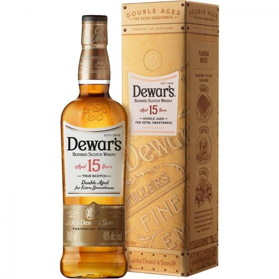 Whisky Dewar's escocés 15 años 70 cl.