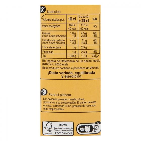 Crema de calabaza Carrefour sin gluten 1 l. - 1
