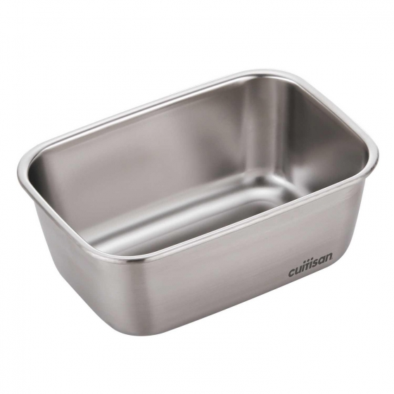 Hermético Rectangular Metal CUITISAN CANDL 1800 ml - Metalizado - 3
