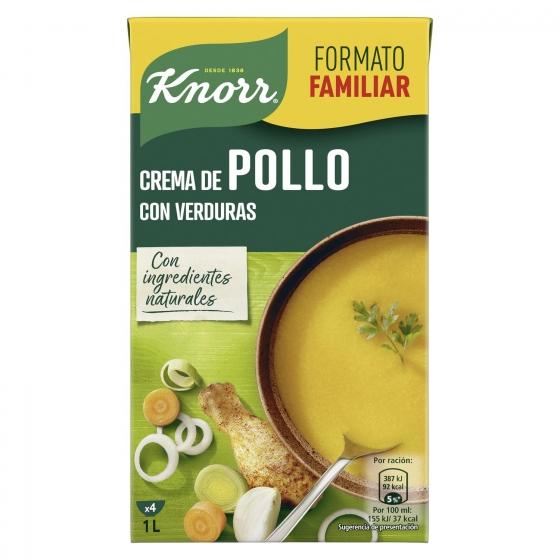Crema de pollo con verduras Knorr 1 l.