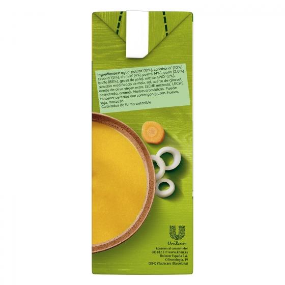 Crema de pollo con verduras Knorr 1 l. - 4