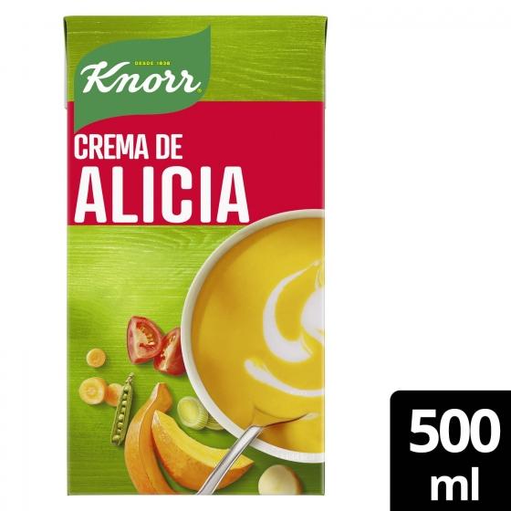 Crema de calabaza, zanahoria y guisantes Knorr 500 ml. - 3