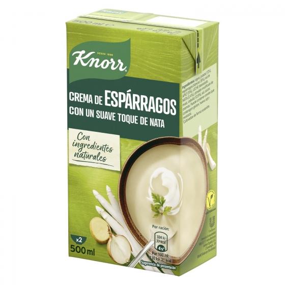 Crema de espárragos con un suave toque de nata Knorr 500 ml. - 1