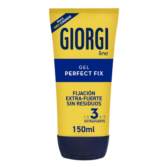 Gel fijador 'Perfect Fix 24h' extrafuerte Giorgi 150 ml.