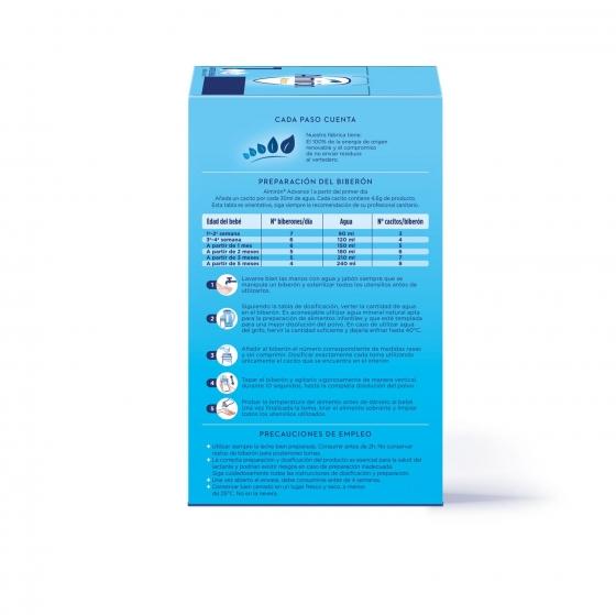 Leche infantil para lactantes desde el primer día en polvo Almirón Advance con Pronutra 1 lata 1200 g. - 1