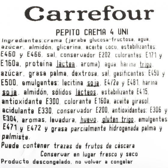 Pepitos de azucar Carrefour 4 ud - 3
