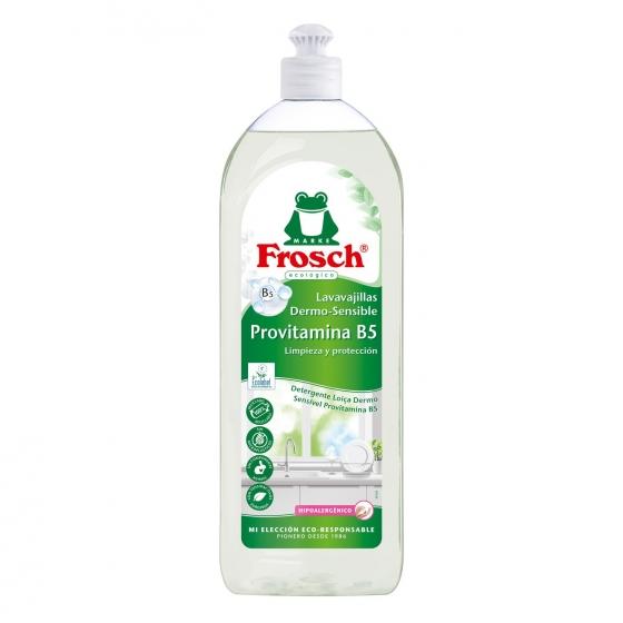 Lavavajillas mano hipoalergénico ecológico Frosch 750 ml.