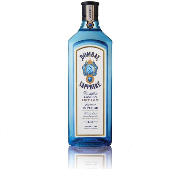Ginebra Bombay Sapphire 1,75 l.