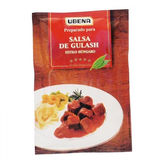 Salsa goulasch Ubena sobre 40 g.