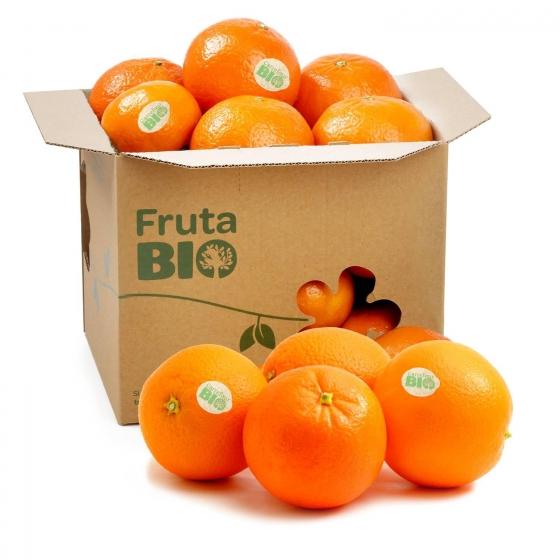 Naranja de mesa ecológica Carrefour Bio 1 kg aprox